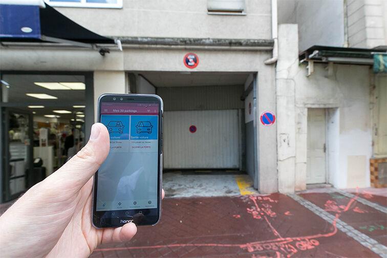 location parking Marché Saint Romain