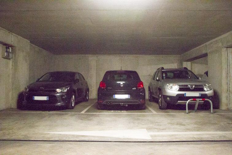 Parking Boulevard Saint-Loup - Marseille caméra