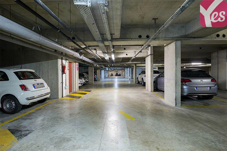 Parking Servan - Paris souterrain