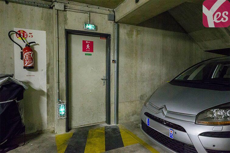 Parking Servan - Paris location mensuelle