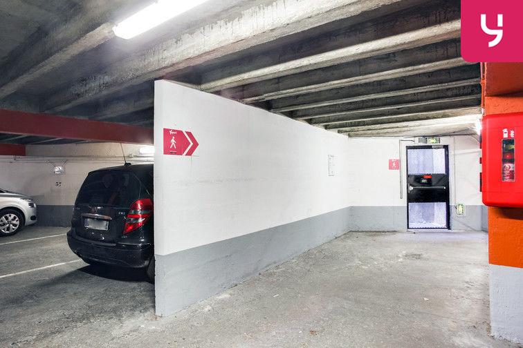 Parking Nouveau Cimetière de Cusset - Allée Gerda Taro - Villeurbanne caméra