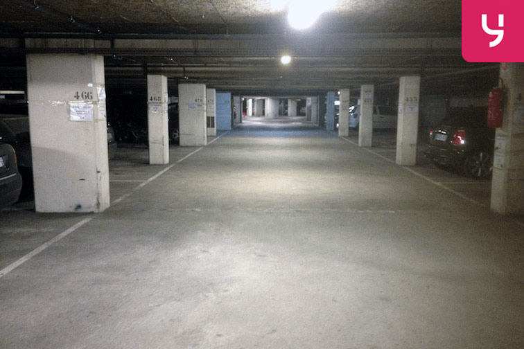 Parking spacieux