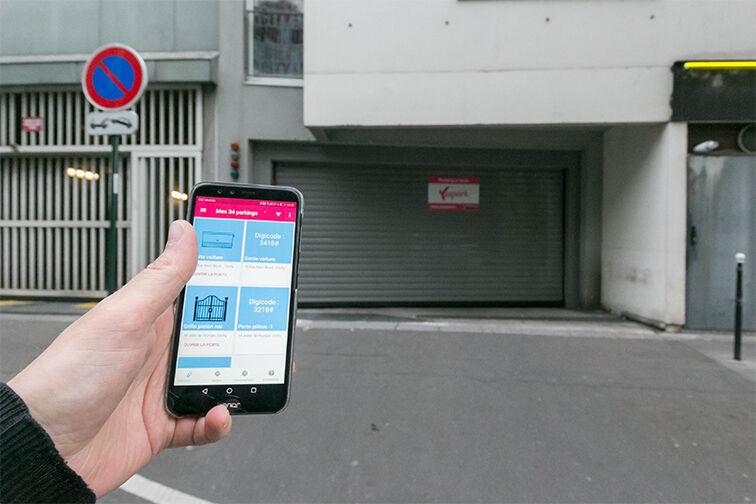 Location parking Allées de l'Europe - Clichy