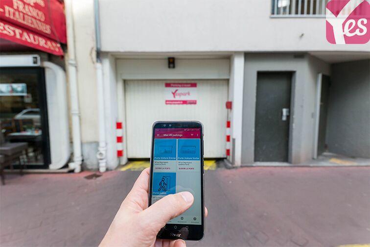 Location parking Rue Deguingand - Levallois-Perret