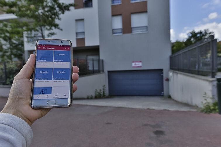 location parking Rue de Strasbourg - Les Canibouts - Nanterre