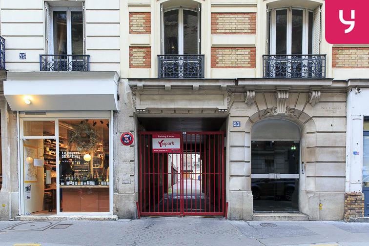 Parking Mairie - Paris 20 (place moto) gardien