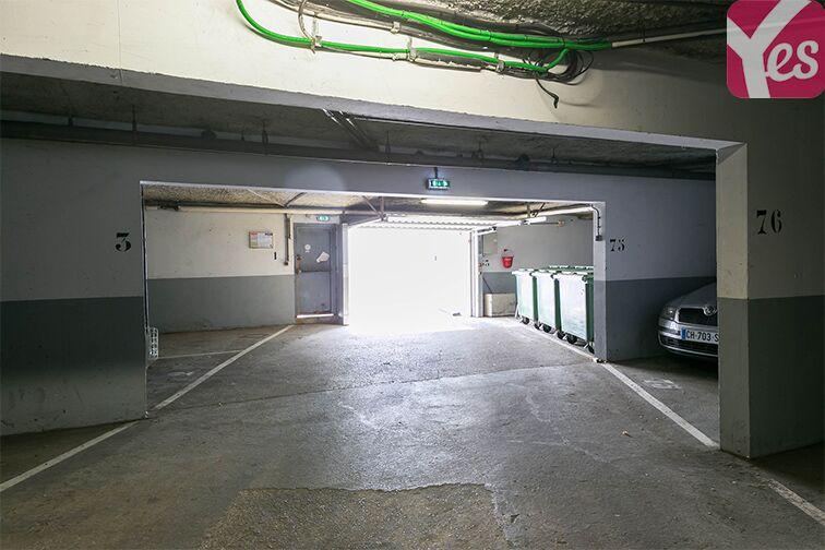 Parking Salvador Allende - Pasteur - Villepinte sécurisé