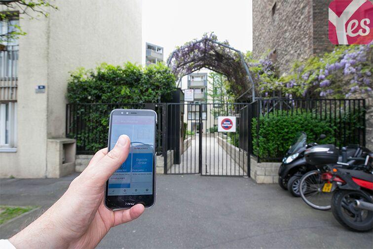 Parking Rue Jean Bleuzen - Métro Malakoff - Vanves souterrain