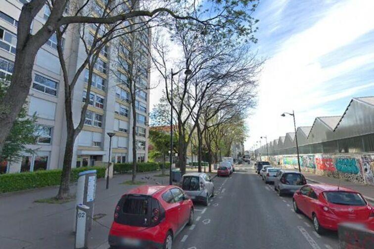 Parking Jardin d'Éole - Villa Curial - Paris 19 location mensuelle