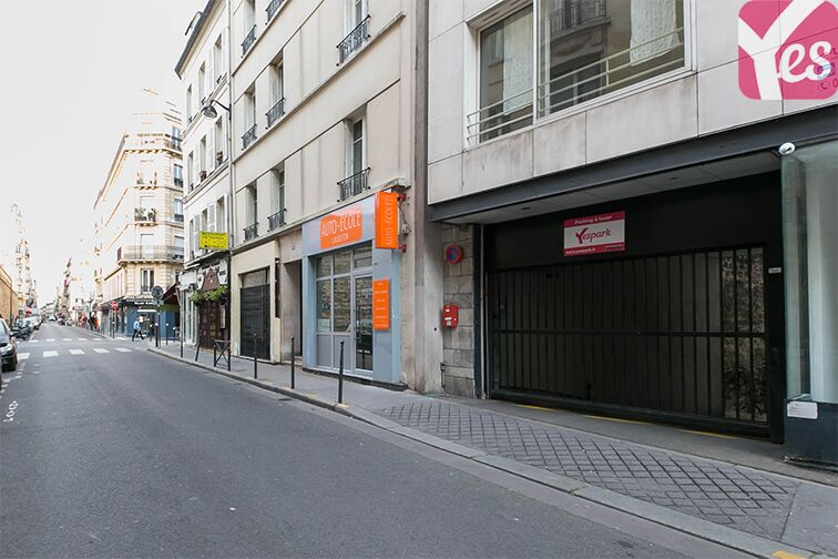 Parking Rue Lauriston - Métro Victor Hugo - Paris Paris