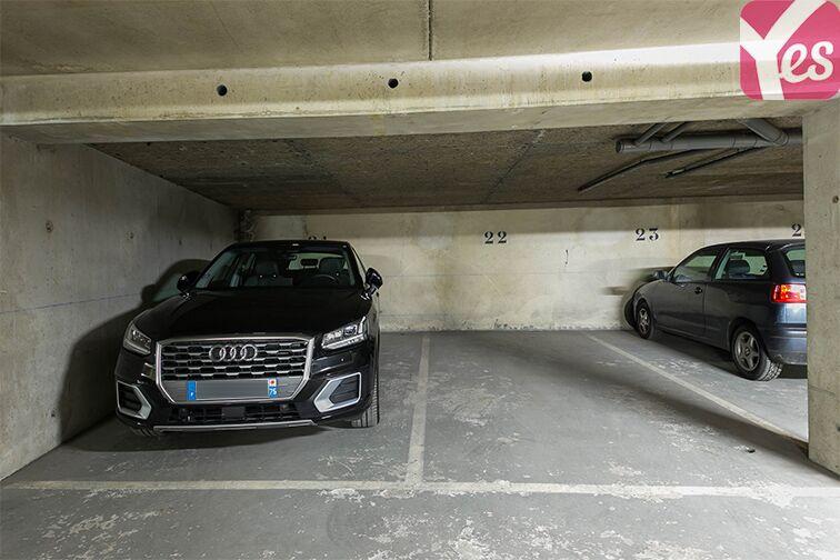 Parking Rue Lauriston - Métro Victor Hugo - Paris 73 rue Lauriston