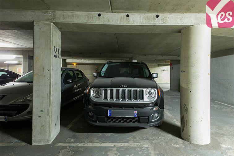 Parking Rue Lauriston - Métro Victor Hugo - Paris sécurisé