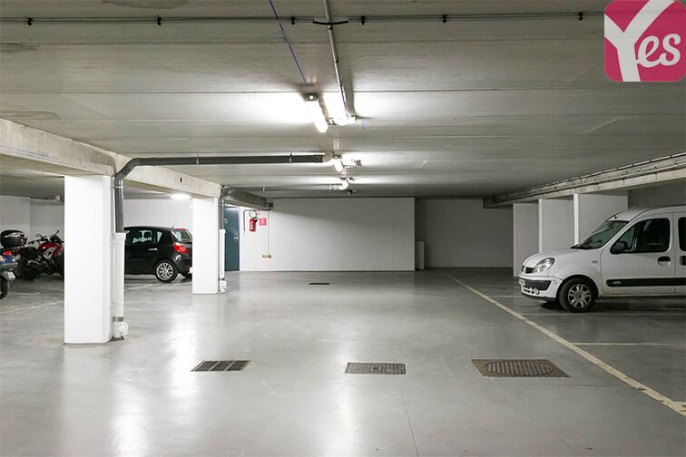 Parking Rue Castex - Bastille - Paris souterrain