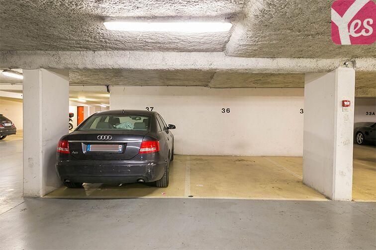 Parking Métro Mairie d'Issy - Issy-les-Moulineaux sécurisé