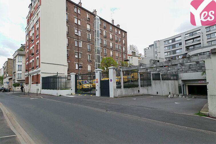 Parking Métro Mairie d'Issy - Issy-les-Moulineaux box