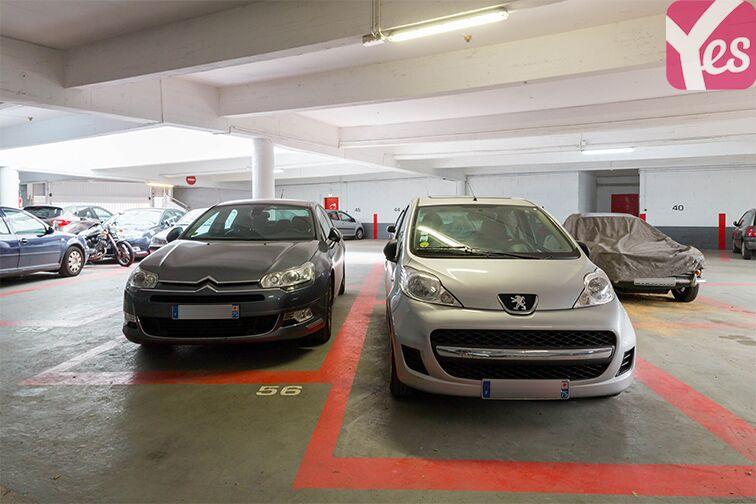 Parking Pierre Brossolette - Montrouge caméra