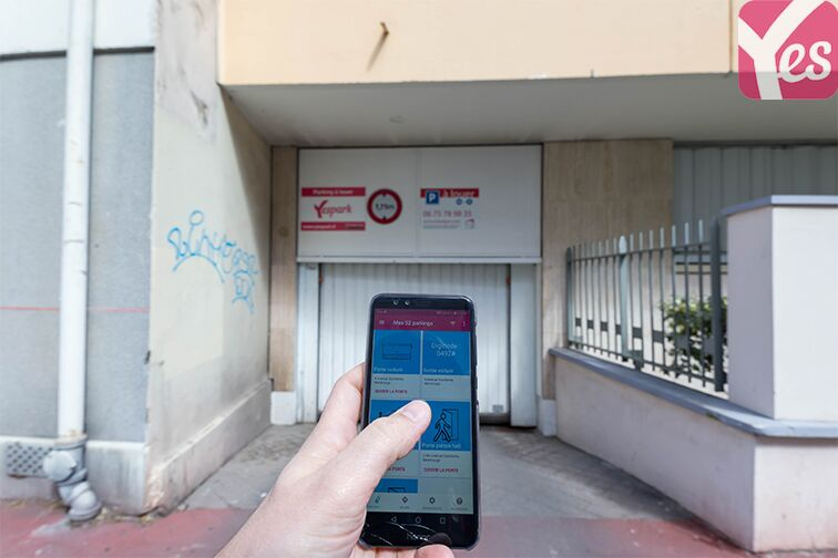 location parking Square Jean Moulin - Montrouge