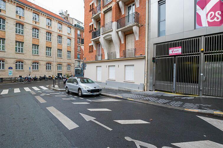 Parking Gravelle - Paris 12 caméra