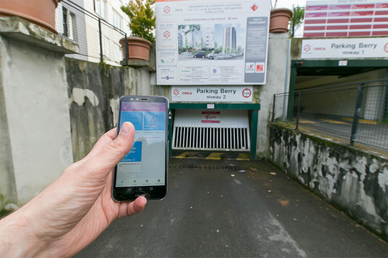 Parking Mairie - Résidence les Avelines - Les Ulis box