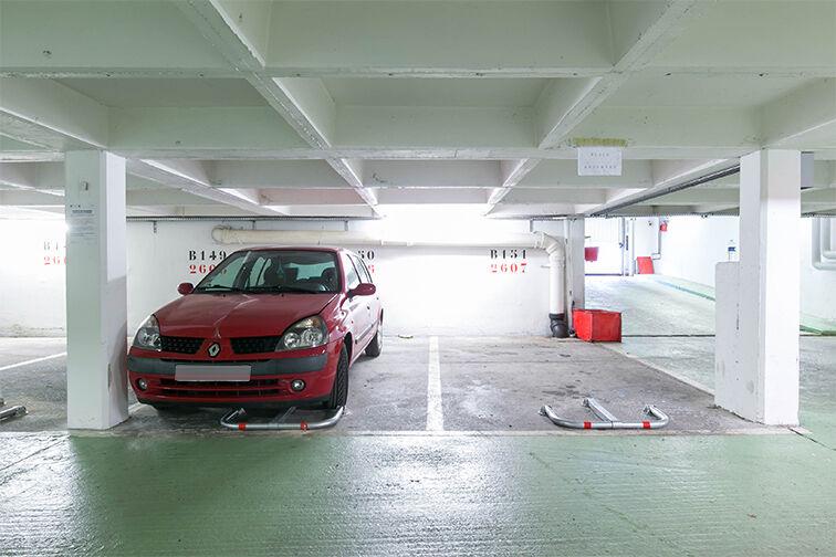 Parking Mairie - Résidence les Avelines - Les Ulis souterrain