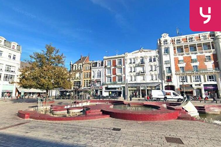 Parking Beffroi - Porte de Valenciennes - Armes - Douai sécurisé