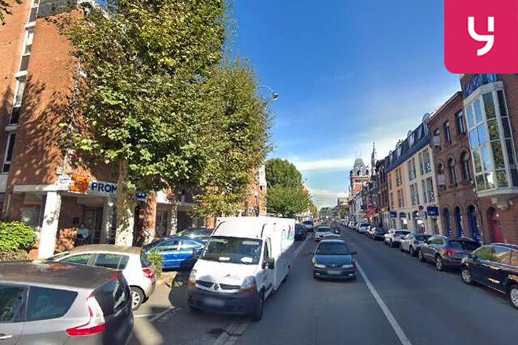 Parking Rue du Général de Gaulle - La Madeleine caméra
