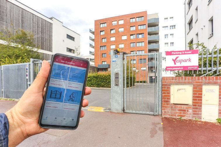 Parking Gare de Roubaix en location