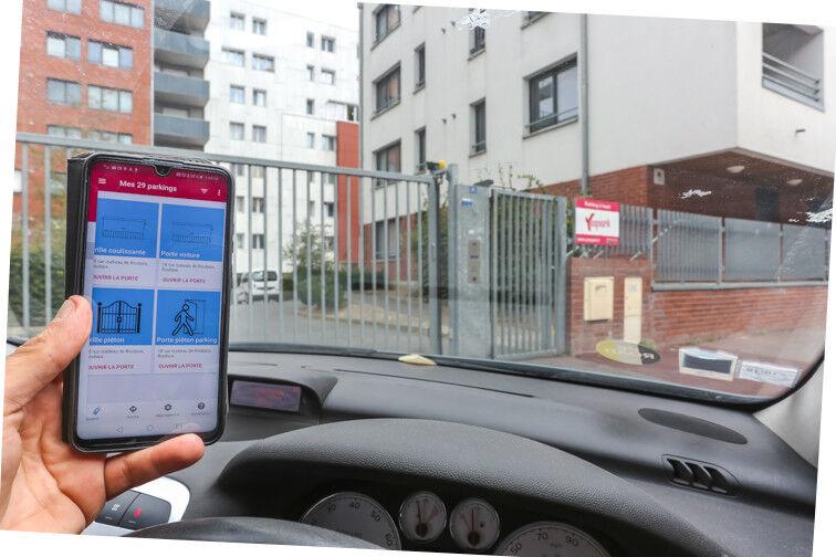 Entrez dans le parking avec l'application Yespark