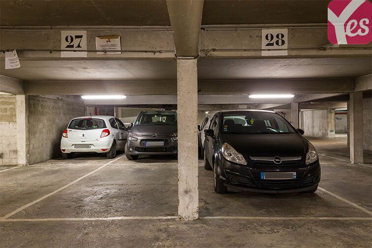 Parking Parc Georges Brassens - Convention - Paris souterrain