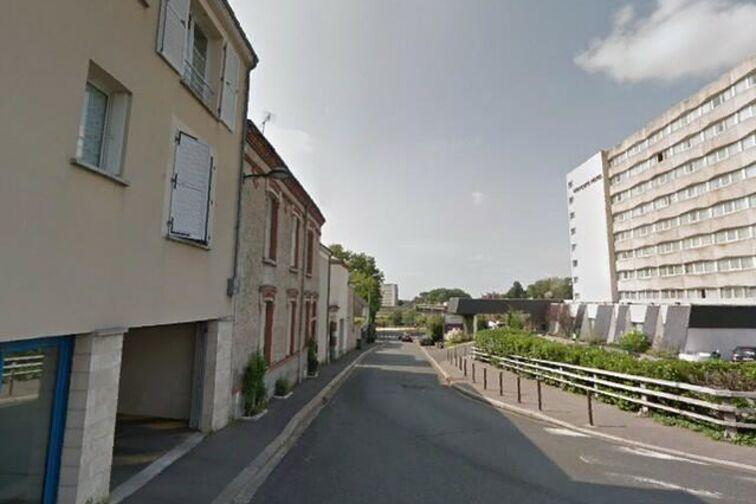 Parking Pont Maréchal Joffre - Creuse - Orléans (aérien) caméra