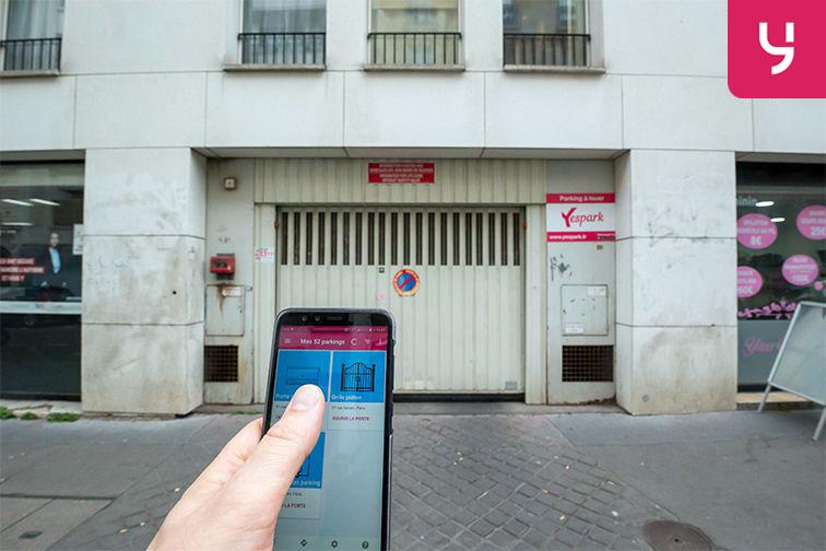 location parking Servan - Paris (place moto)