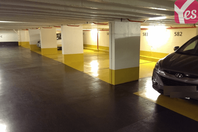 location parking Mairie de Villeurbanne