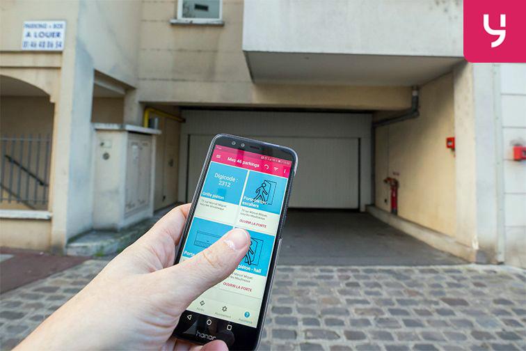 location parking Issy-les-Moulineaux - rue Marcel Miquel (place double)