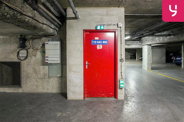 Parking Issy-les-Moulineaux - rue Marcel Miquel (place double) location