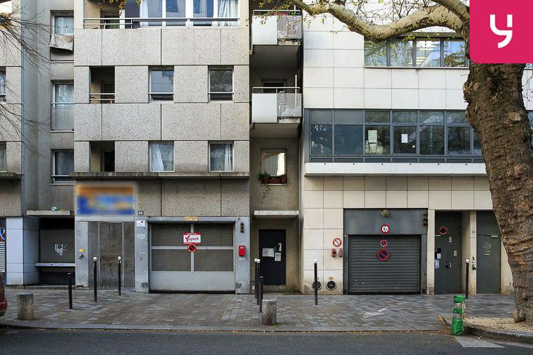 Parking Cour Saint-Emilion location