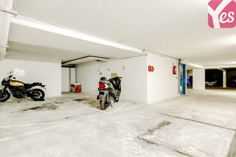 Parking Cévennes - Cauchy - Paris gardien