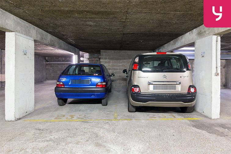 Parking La Motte-Picquet Grenelle - Rue Letellier - Paris 15 (place double) caméra