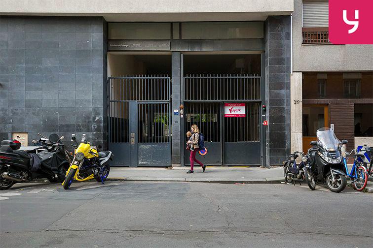 Parking Rue Breguet - Roquette - Paris (place moto) sécurisé
