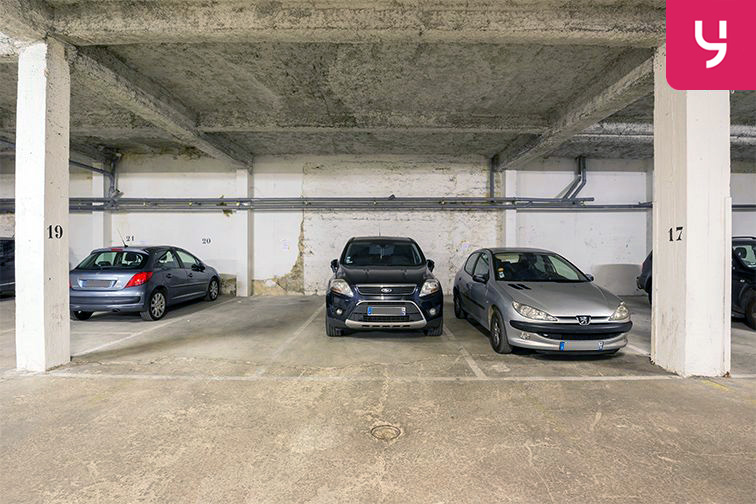 Parking Rue Breguet - Roquette - Paris (place moto) souterrain