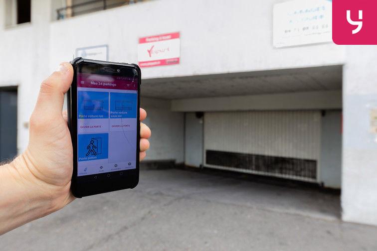 location parking Faculté de médecine Laennec - Lyon (place double)