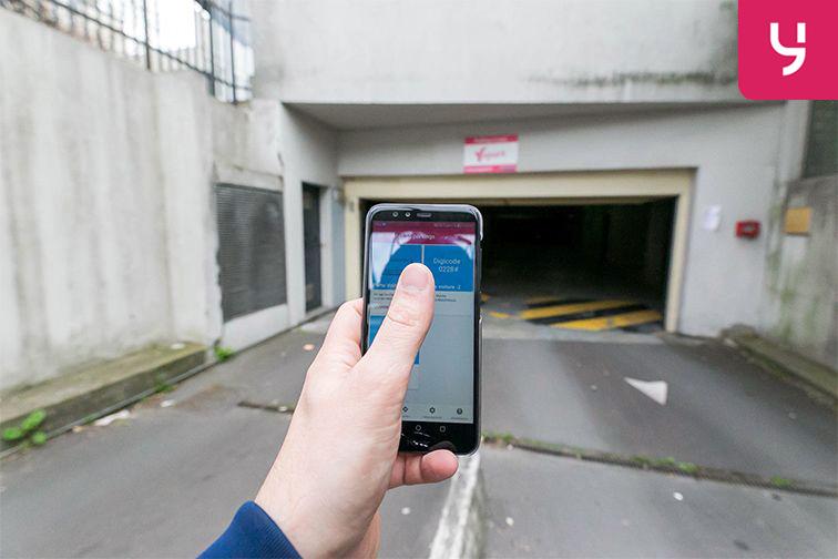 Location parking Métro Mairie d'Issy - Issy-les-Moulineaux - Places doubles