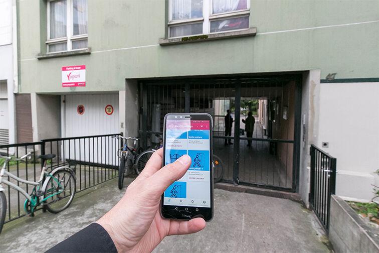 Parking Métro Marcel Sembat - Rue du Dôme - Boulogne-Billancourt caméra