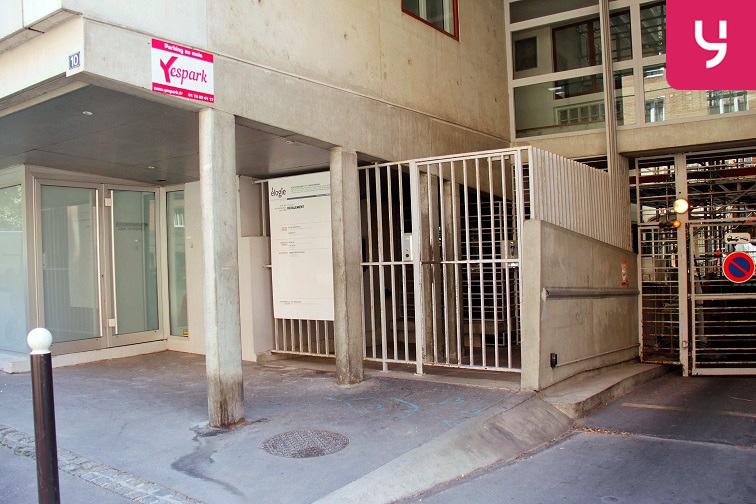 Location parking Rue Duchefdelaville - Paris