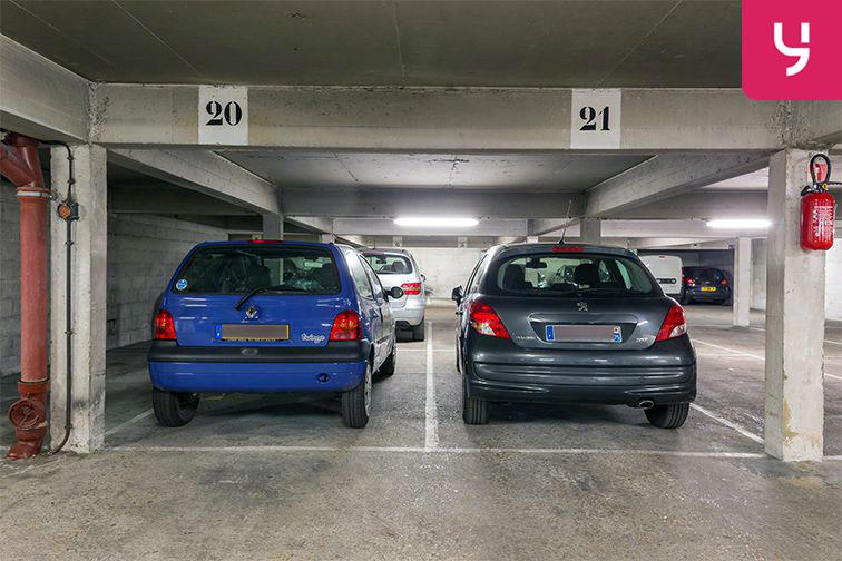 Parking Parc Georges Brassens - Convention - Paris (place moto) caméra