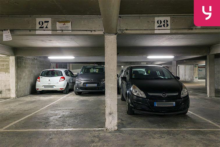 Parking Parc Georges Brassens - Convention - Paris (place moto) box
