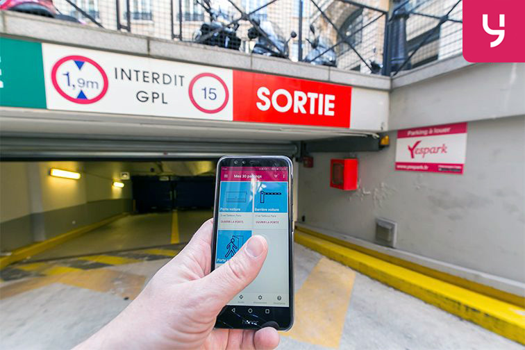 Location parking Boulevard des Italiens - Paris 9 (place moto)