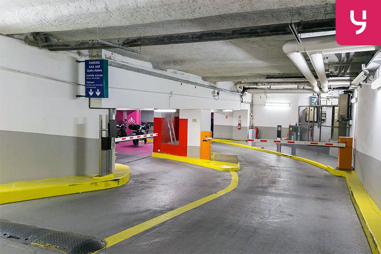 Parking Boulevard des Italiens - Paris 9 (place moto) gardien