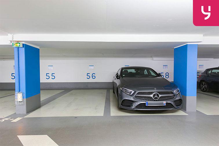 Parking Boulevard des Italiens - Paris 9 (place moto) caméra