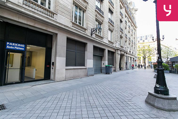 Parking Boulevard des Italiens - Paris 9 (place moto) avis