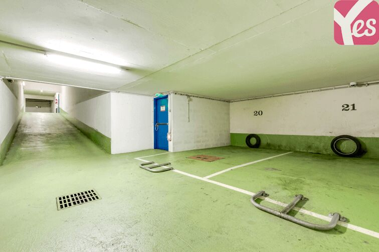 Parking Corvisart - Paris caméra
